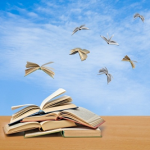 books flying-300x300